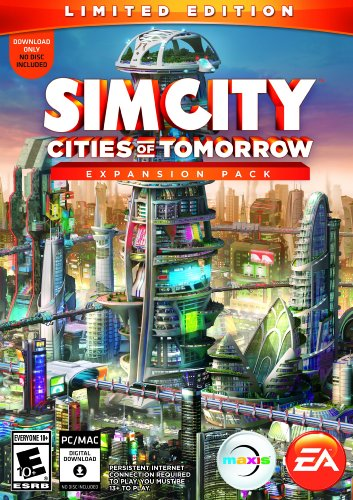 NEW & SEALED! SimCity Cities Of Tomorrow Limited Edition Expansion Pack PC Game