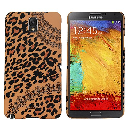Heartly Leopard Style Printed Design High Quality Hard Bumper Back Case Cover For Samsung Galaxy Note 3 Neo N7500 N7505 - Light Brown  available at amazon for Rs.249