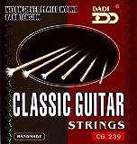 Dadi accesorios ST-10CG de accesorios para estudiante de juego de guitarra clásica