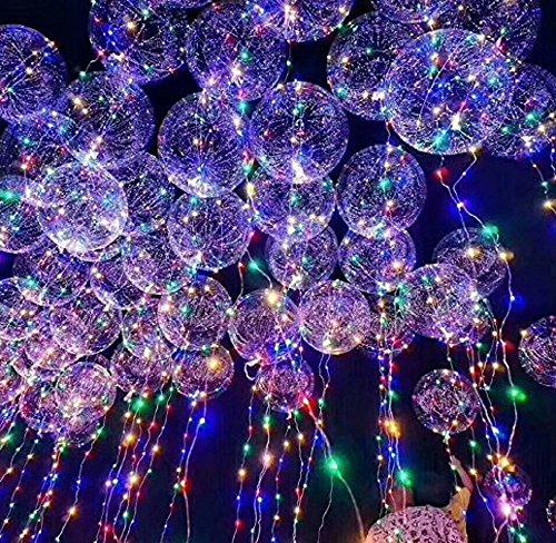 ILOVEDIY Leuchtende Led Ballon Licht Luftballons Zuhause Dekoration Zum Party Hochzeit Weihnachten Festival (20