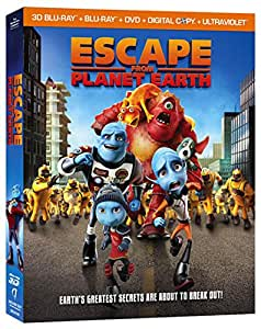 Escape From Planet Earth [Blu-ray] [2013] [US Import]