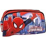 Spiderman Marvel Geschenk-Set Kulturbeutel, rot und blau