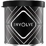 Involve Gel Can - Carbon Black | Exclusive Gel Car Perfume Air Freshener with DrivFRESH | ITG01
