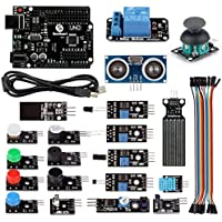 SainSmart 20-013-144 UNO R3 Education Starter Kit for Arduino, 1 Relay Module - ukpricecomparsion.eu