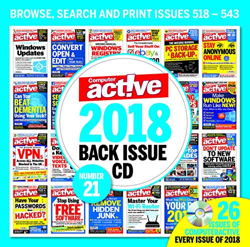 Price comparison product image Computer Active Back Issue CD 2018 All 26 issues