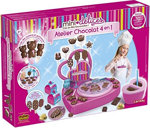 Lansay - 17902 - Mini Délices Atelier chocolat 4 En 1
