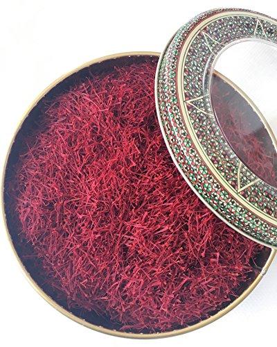 Best Saffron; A Selection of World's Royal Quality Saffron; 100% Pure All Red Genuine Saffron (100 Grams)