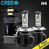 Wiseshine h4 9003 hb2 hi/lo canbus LED birne...