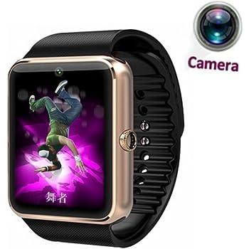 Reloj inteligente con Bluetooth. Reloj de pulsera deportivo con control de actividad física, soporte