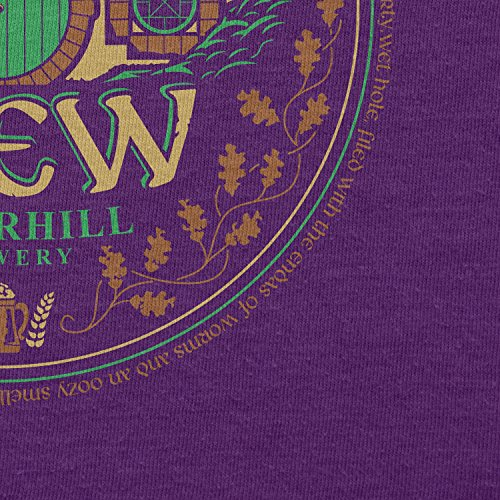 TEXLAB - Bäg End Brew - Damen T-Shirt Violett