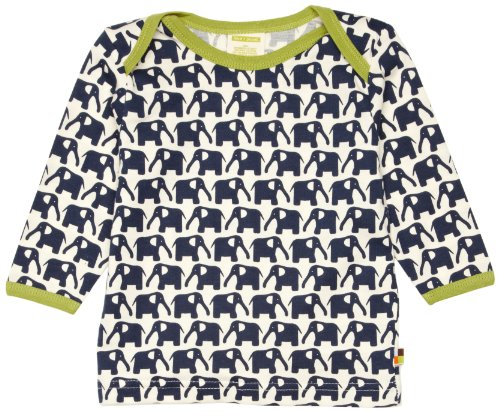 Loud + Proud Unisex - Baby Sweatshirt 205, Gr. 86/92, Blau (Marine) -