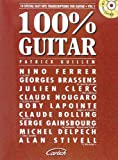 100% Guitar Volume 1 (Guillem Patrick) Guitar Book/Cd