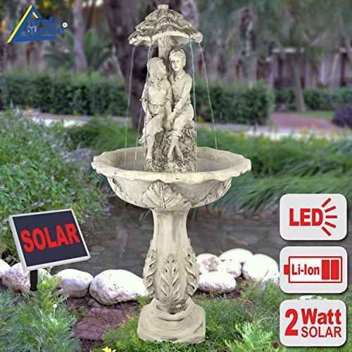 Fontana solare da giardino - fontana per giardino