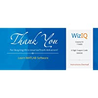 Learn MATLAB Software (Activation Key Card)