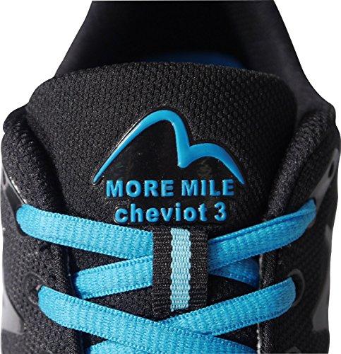 More Mile Cheviot 3Damen Laufschuhe Offroad Black / Turquoise