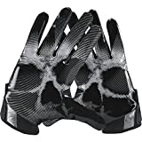 Nike Vapor Jet 4 American Football Handschuhe Receiver - Black/Wolf Grey/Black (Large)