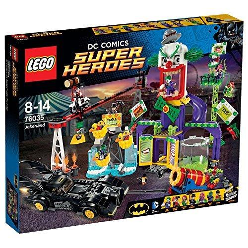 LEGO - EL PARQUE DE ATRACCIONES DEL JOKER  MULTICOLOR (76035)