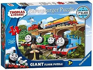 Ravensburger UK 5550 Thomas and Friends Big World Adventures, Puzzle Gigante de 24 Piezas
