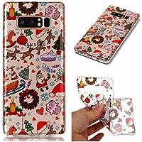 Weihnachten Hülle für Samsung Galaxy Note 8,Artfeel Weihnachten Spielplatz Muster klar Weich Silikon Zurück Handyhülle... preisvergleich bei billige-tabletten.eu
