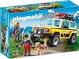 Playmobil-9128 Vehículo de Rescate de Montaña,, única (9128