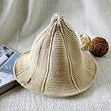 Defect Signora di berretto a maglia moda Hollow capezzolo cappello estivo cappuccio da viaggio visiera protezione solare