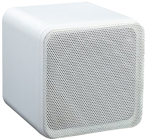 4-80W-SURROUND-SOUND-BOOKSHELF-CUBE-SPEAKERS-WHITE-SUPPLIED-AS-A-PAIR