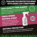 Dog Fleas Protection Spray - Tick and Flea Treatments for Dogs - Best Grooming Coat Conditioner from Cooper and Gracie