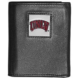 NCAA UNLV Rebels Leather Tri-Fold Wallet
