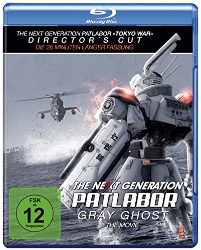The Next Generation: Patlabor - Gray Ghost - The Movie (+ Bonus-DVD) [Director's Cut] [Special Edition] [Blu-ray]