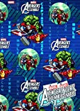 Disney Marvel Avengers 2x Gift Wrap Sheets and 2x Gift Tags