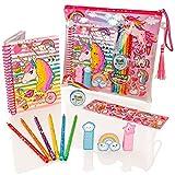 Best Livres à colorier pour les filles - Set de Papeterie de Luxe Girl Unicorn Style Review