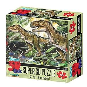 Howard Robinson hr13518Super 3D Double Trouble Puzzle ((63Piezas))