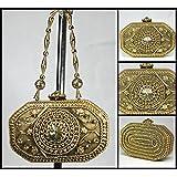 Bolso Latón Gold