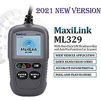 Autel ML329 OBD2-Diagnosegerät für VW BMW Audi Mercedes etc, 3 Sprache (Deutsche inkl.) verfügbar, KFZ-Auslesegerät…