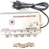 BeMatik - Amplificador de antena TV TDT DVBS para pequeñas ...