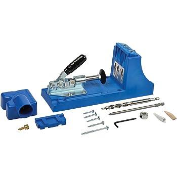 Kreg 256272 Jig Kit de Système de gabarit, 0 V, Bleu