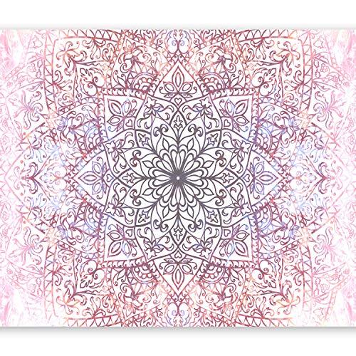murando Papier peint intissé 350x256 cm Décoration Murale XXL Poster Tableaux Muraux Tapisserie Photo Trompe l'oeil Abstraction Mandala Orient f-C-0131-a-d