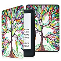 Fintie Protective Case for Kindle 8th Generation - The Thinnest and Lightest SlimShell Cover with Auto Wake/Sleep for Amazon All-New Kindle (8th Generation - 2016 release) E-reader 6