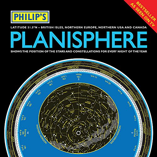 Philip's Planisphere (Latitude 51.5 North) 2012: For use in Britain and Ireland, Northern Europe, Northern USA and Canada (Live Stargazing)