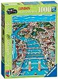 Ravensburger London - Westansicht 1000 Teile Puzzle