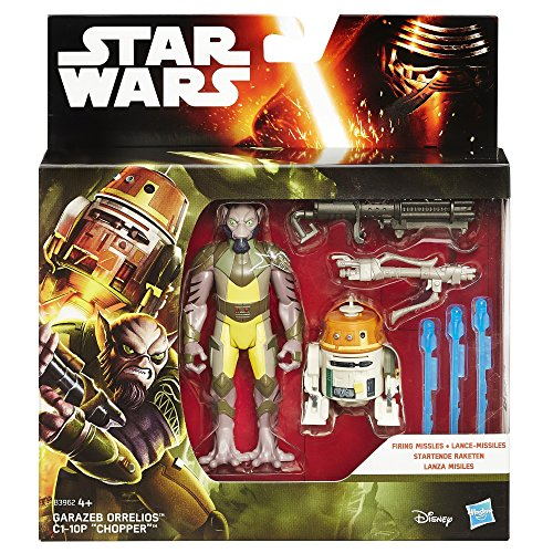 Star Wars Rebels 3.75-inch Forest Mission Garazeb Orrelios And C1-10p Figure - 2