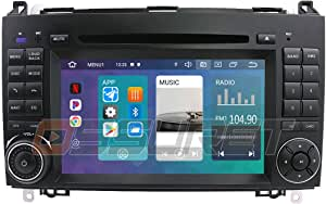 Android 10 Auto Gps Navigation Bluetooth 2 Din Auto Multimedia System Mit 7 Zoll Touchscreen Spiegel