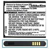 Akku-King Akku ersetzt Samsung EB-BC115BBC, EB-BC115BBE - Li-Ion 2400mAh - für Galaxy K zoom, S5 Zoom, SM-C111, SM-C1158