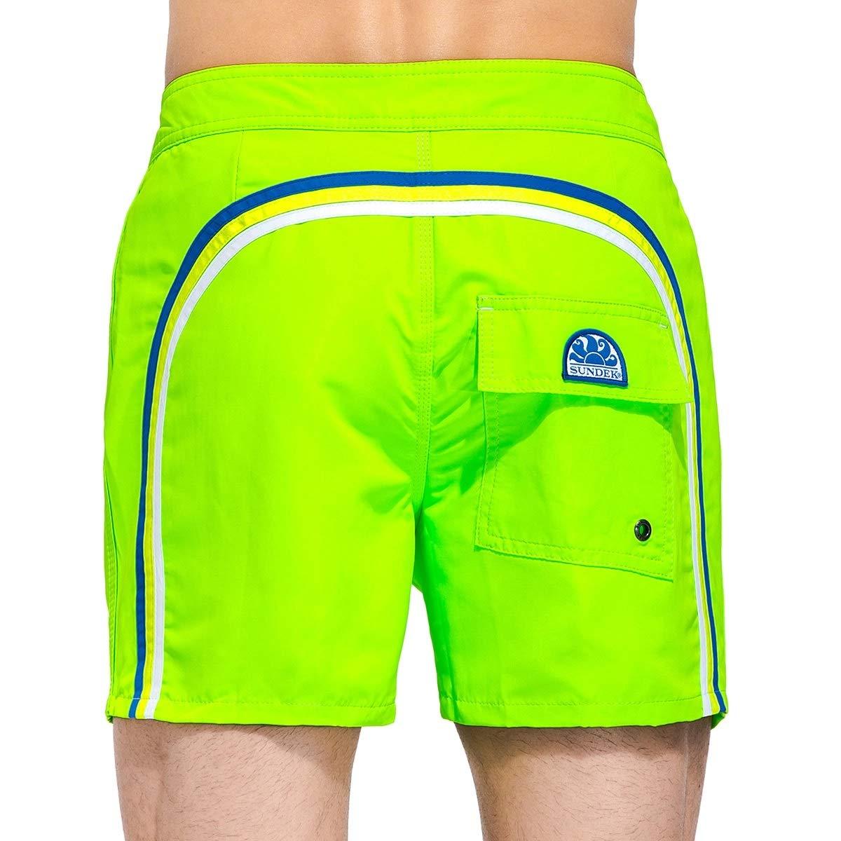 d33382e92ad6cb Sundek Verde Pantaloncini da bagno Uomo 502 - Face Shop