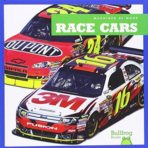 Race Cars (Bullfrog Books: Machines at Work) by Allan Morey (2014-08-01)