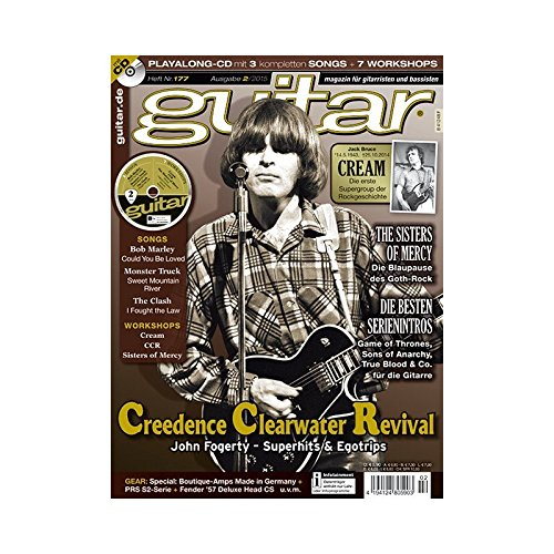 Produktbild Guitar Ausgabe 02 2015 - Creedence Clearwater Revival- mit CD - Interviews - Workshops - Playalong Songs - Test und Technik