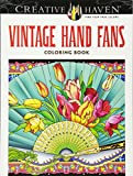 Creative Haven Vintage Hand Fans Coloring Book (Cr..