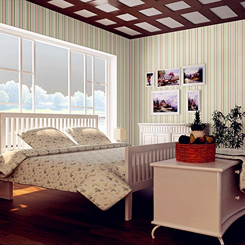Zhzhco Verdickung Pvc Selbstklebend Tapeten Verdickten Wänden Renovierte Elegante, Minimalistische Wallpaper 45Cm*10M