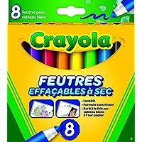 Crayola - Feutres Effaçables, 58-8223-F-000