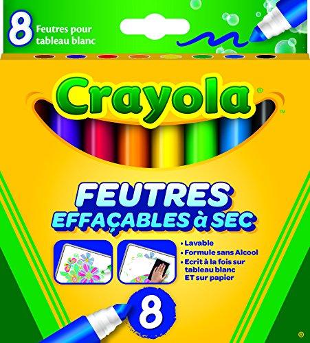 Crayola-Rotulador borrable, 58-8223-f-000